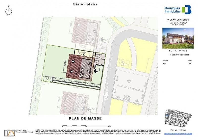 Deluxe sale house / villa Villaz 556000€ - Picture 5