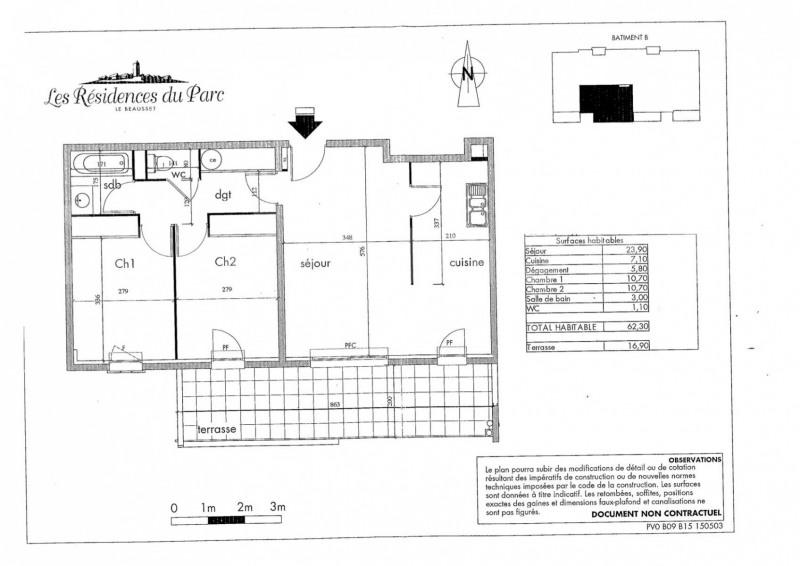 Vente appartement Le beausset 233000€ - Photo 8