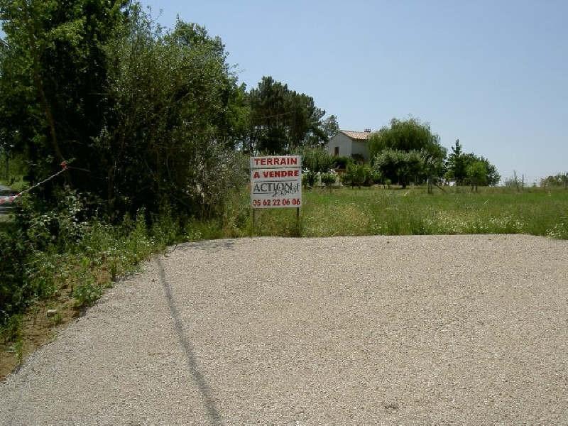 Vente terrain Villemur sur tarn 65000€ - Photo 2
