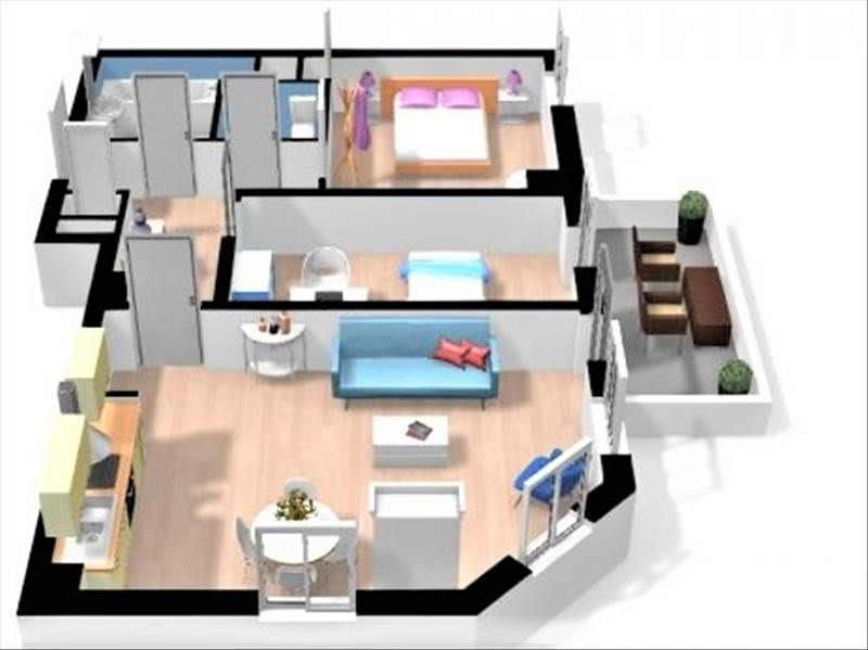 Vente appartement Strasbourg 126500€ - Photo 4