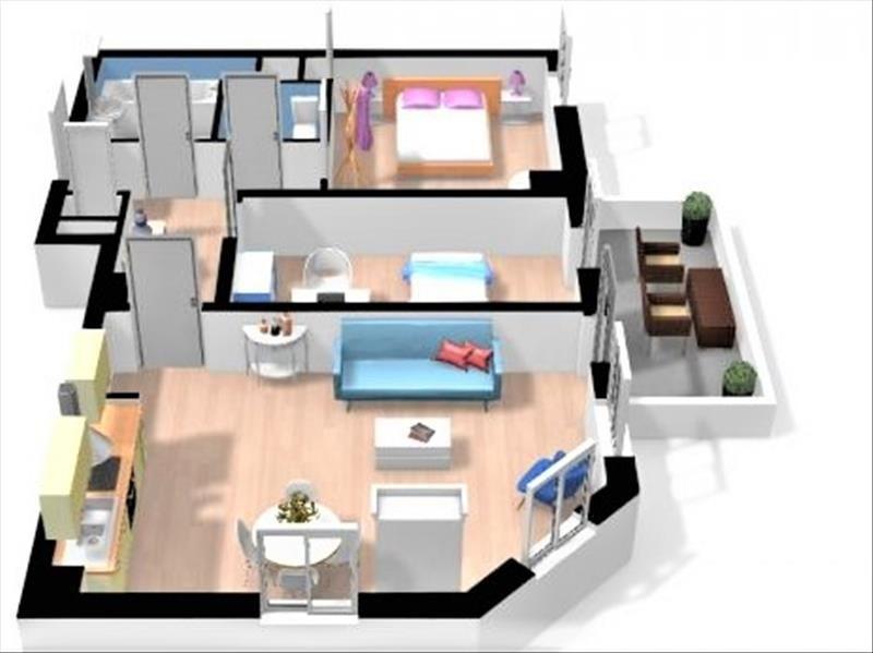 Sale apartment Strasbourg 118000€ - Picture 3