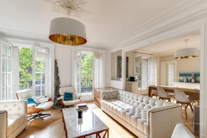 Vente de prestige appartement Paris 17ème 1850000€ - Photo 2