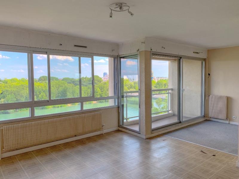 Appartement T2, vue sur le Rhône et le Parc de la tête d'or