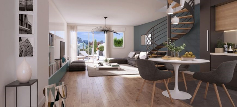 Vente appartement Villeurbanne 431000€ - Photo 1