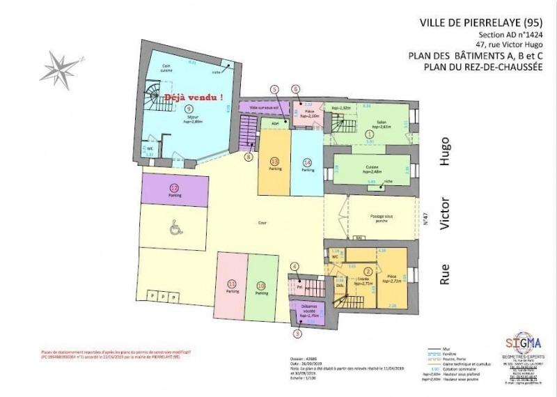 Sale apartment Pierrelaye 246280€ - Picture 2