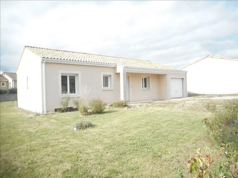 Location maison / villa Pamproux 580€ CC - Photo 1