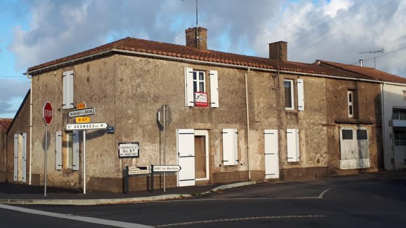 Vente maison / villa St georges de pointindoux 119150€ - Photo 1