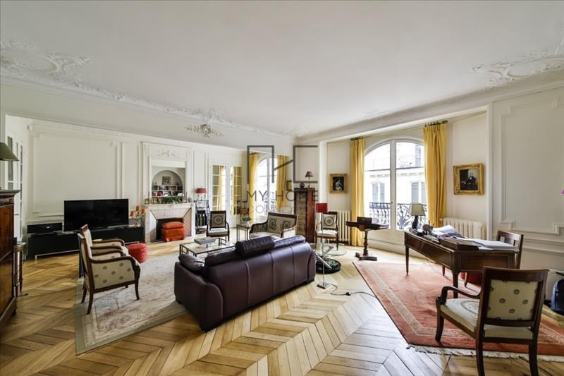 Deluxe sale apartment Paris 17ème 2 850 000€ - Picture 3