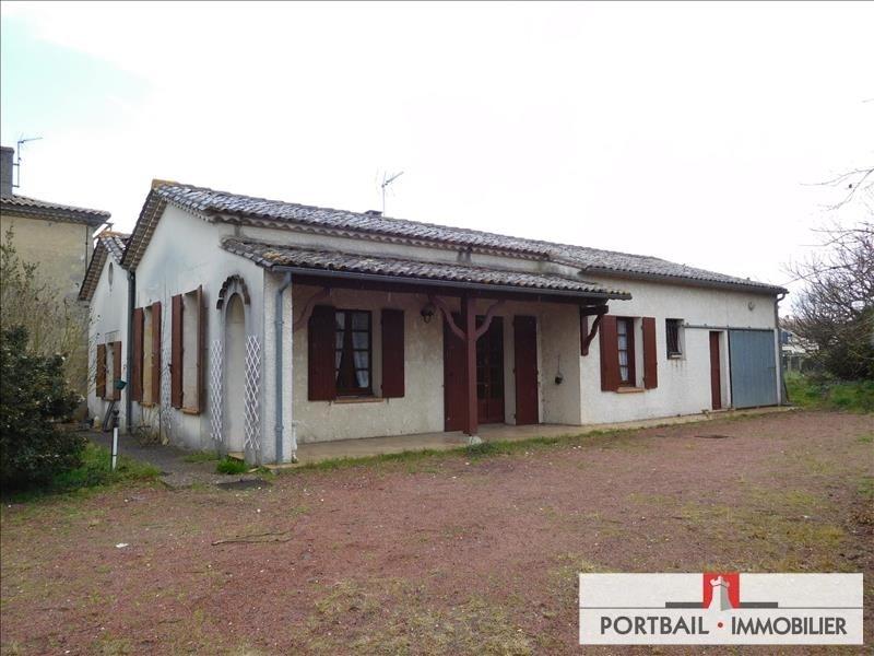 Sale house / villa St ciers sur gironde 99000€ - Picture 1