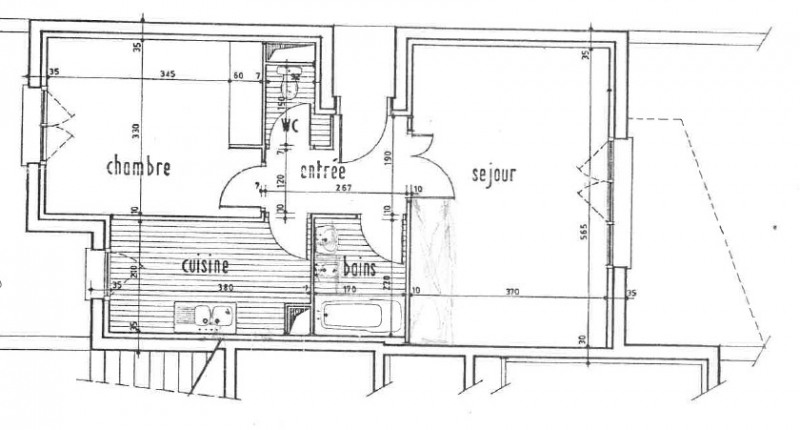 Sale apartment Fontenay-aux-roses 255000€ - Picture 9