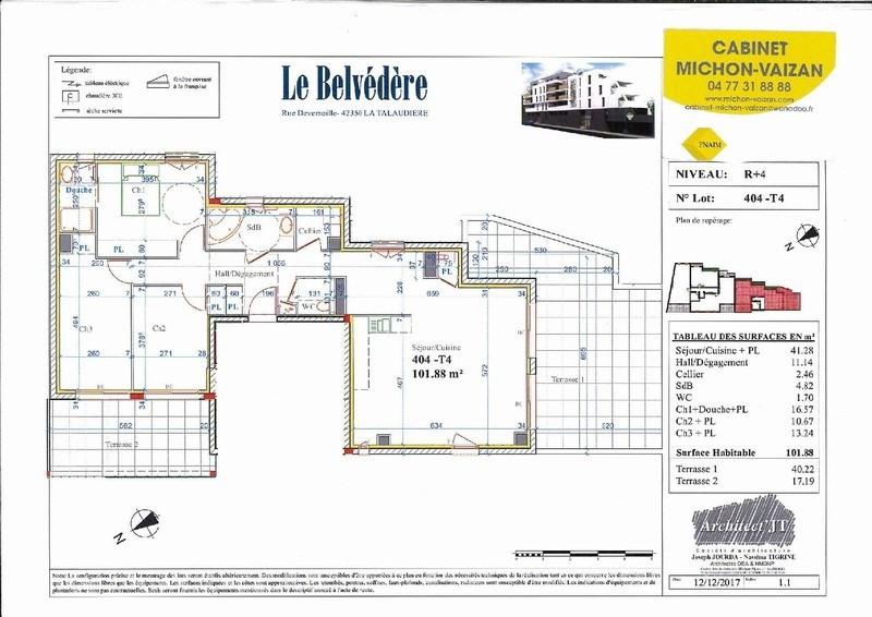Sale apartment Sorbiers 430000€ - Picture 2