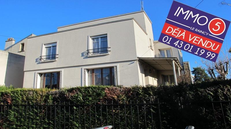 Sale house / villa Villemomble 475000€ - Picture 1