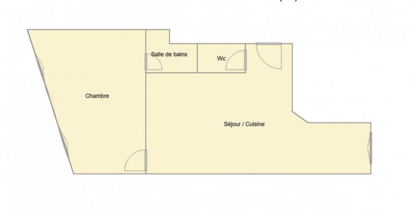 Deluxe sale apartment Levallois-perret 371000€ - Picture 1