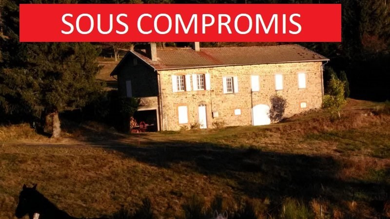 Sale house / villa Riotord 130000€ - Picture 1