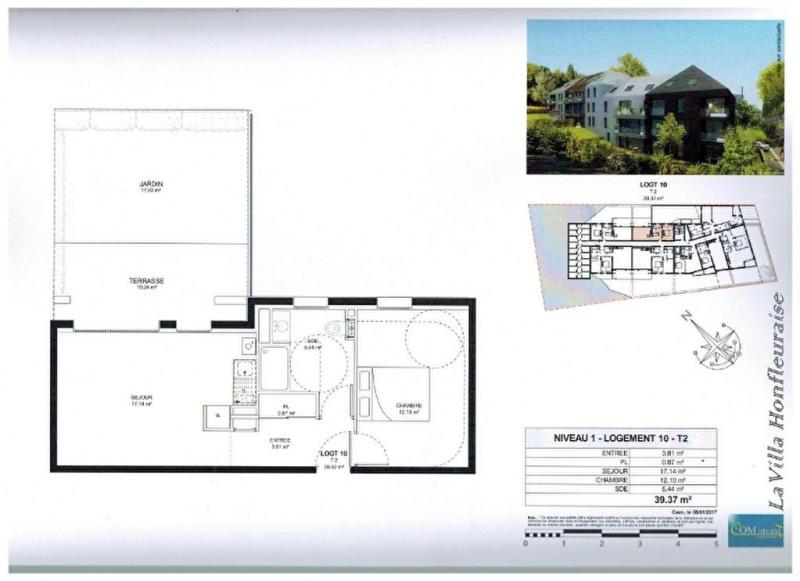 Vente appartement Honfleur 162750€ - Photo 3