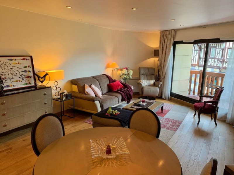 Revenda residencial de prestígio apartamento Deauville 795000€ - Fotografia 3