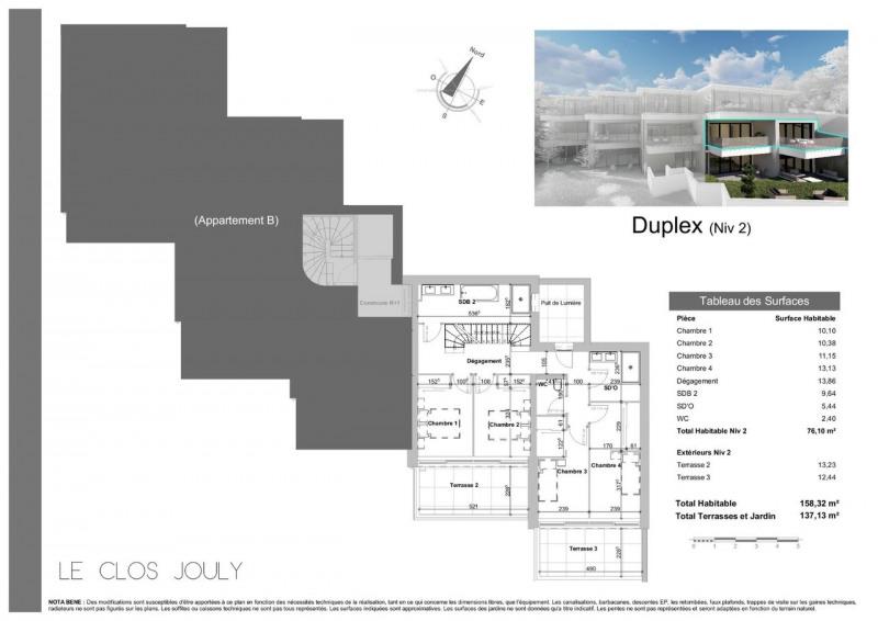 Vente de prestige appartement Annecy-le-vieux 1390000€ - Photo 4
