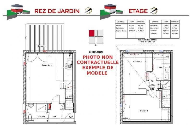 Vente maison / villa Jons 239000€ - Photo 6
