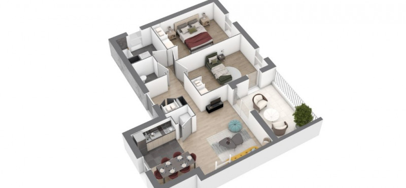 Vente appartement Saint nazaire 216000€ - Photo 5