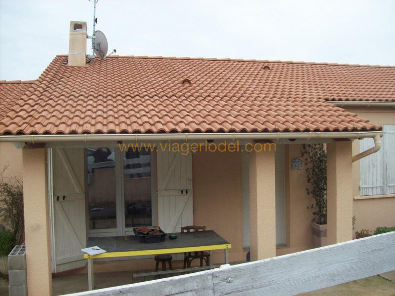 Vendita nell' vitalizio di vita casa Saint-gilles 52500€ - Fotografia 1