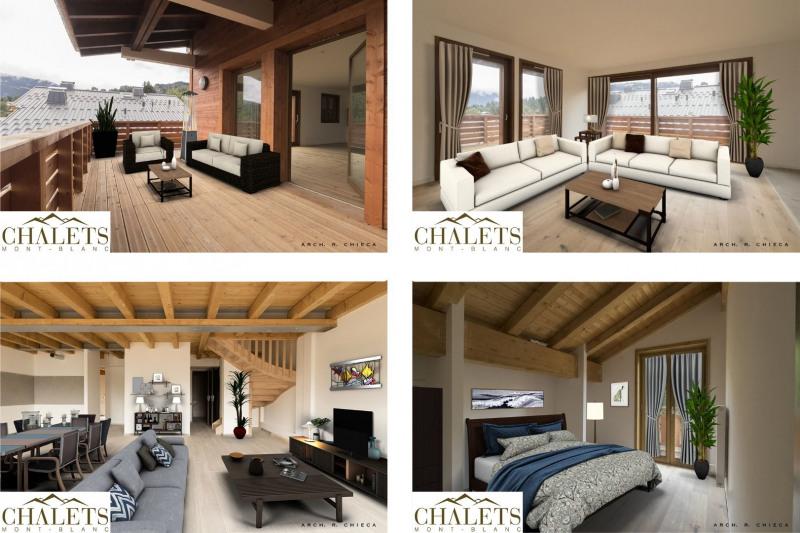 Vente de prestige appartement Combloux 829500€ - Photo 4