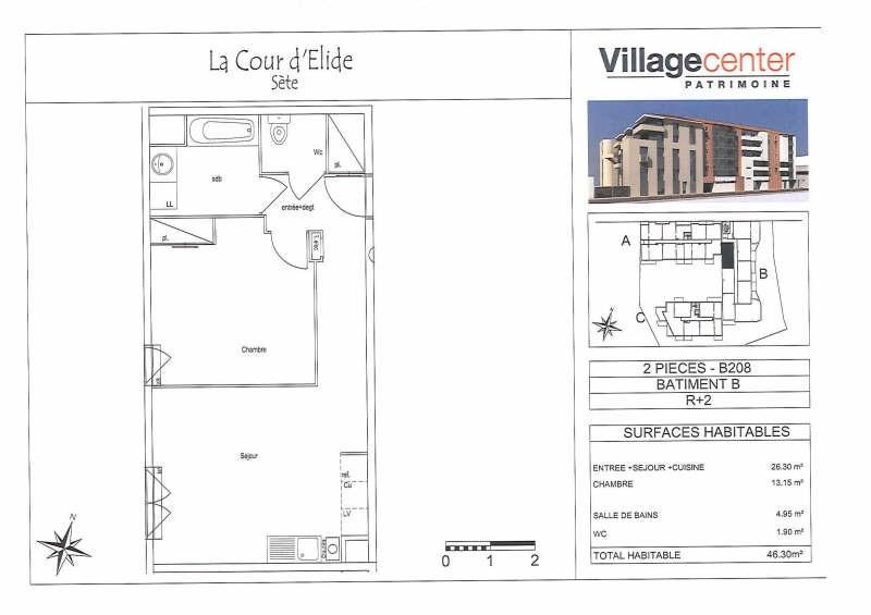 Location appartement Sete 512€ CC - Photo 3