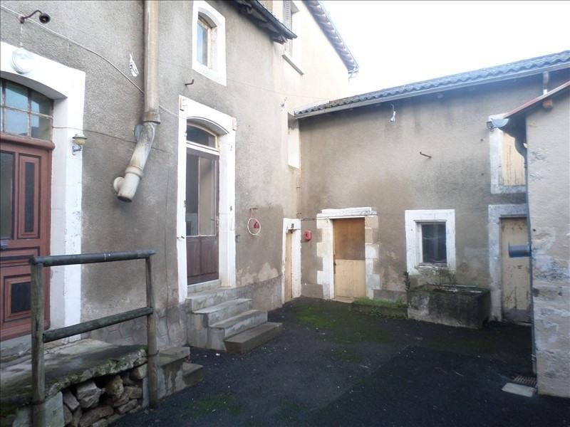 Vente maison / villa Lussac les chateaux 67500€ - Photo 1