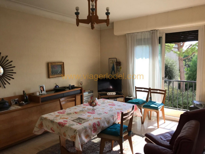 Viager appartement Nice 69 500€ - Photo 1