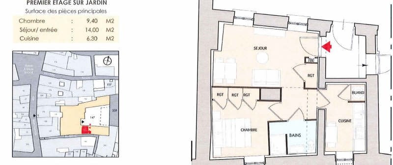 Location appartement Vienne 455€ CC - Photo 3
