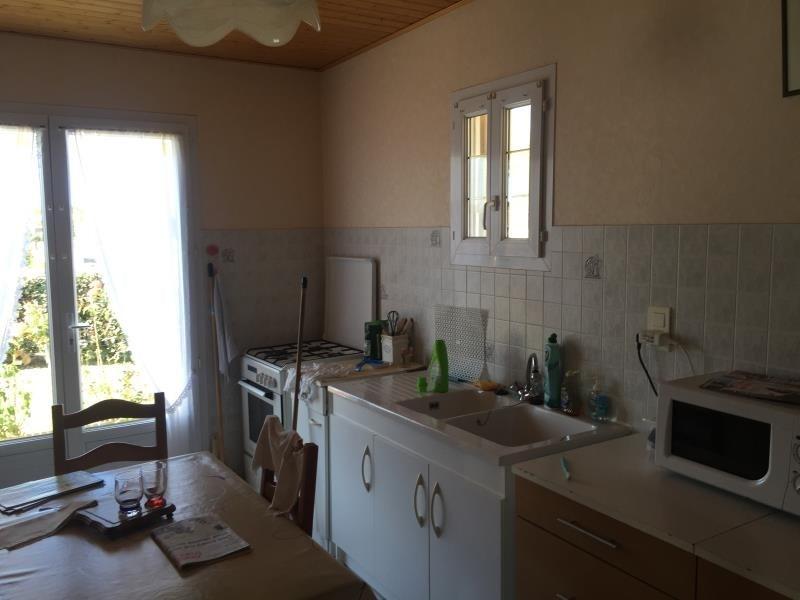 Sale house / villa St vincent sur jard 208000€ - Picture 6