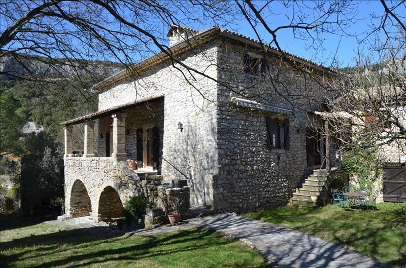 Vente de prestige maison / villa Vallon pont d arc 613600€ - Photo 4