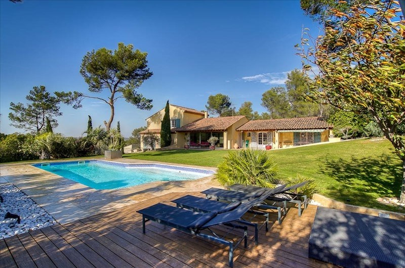Deluxe sale house / villa Cabries 1 249 000€ - Picture 1