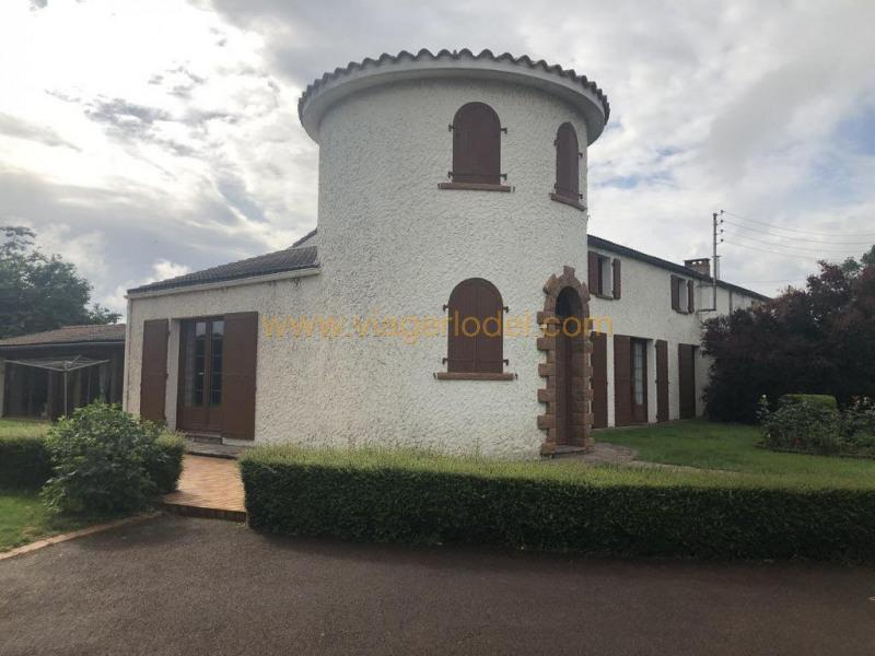 Lijfrente  huis St denis la chevasse 133600€ - Foto 2