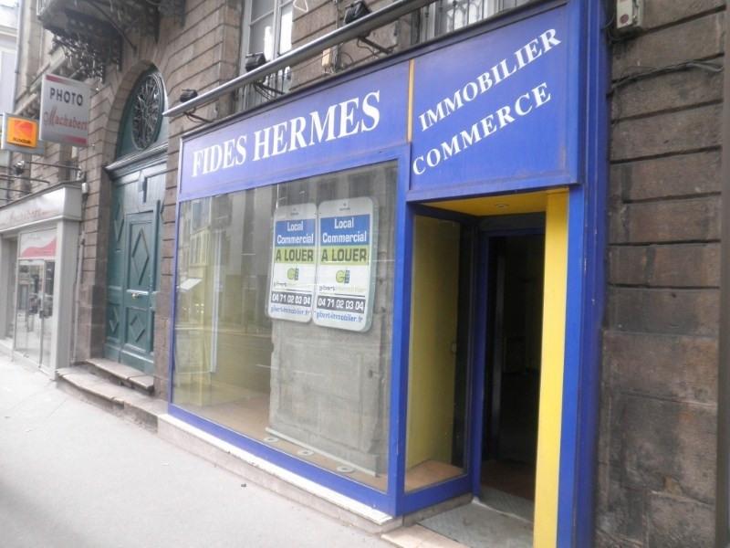 Location local commercial Le puy en velay 300€ HT/HC - Photo 1