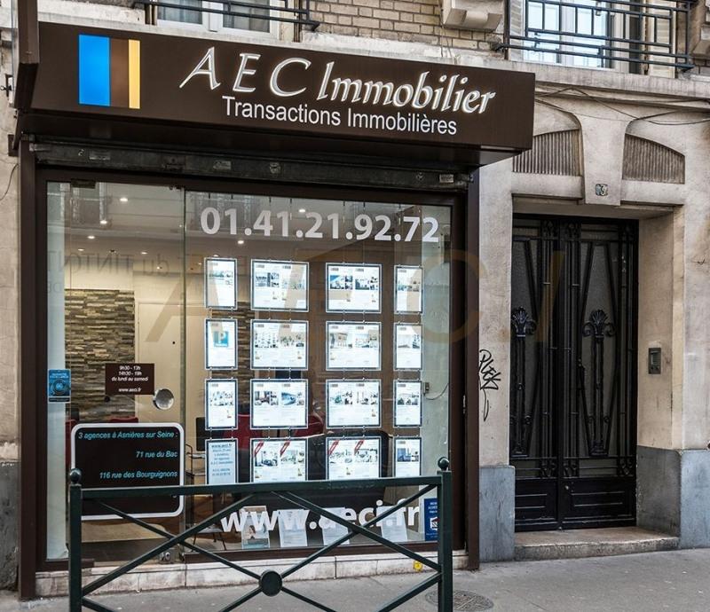 Vente appartement Asnières-sur-seine 420000€ - Photo 14