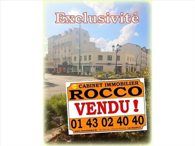Sale apartment Le raincy 225000€ - Picture 1