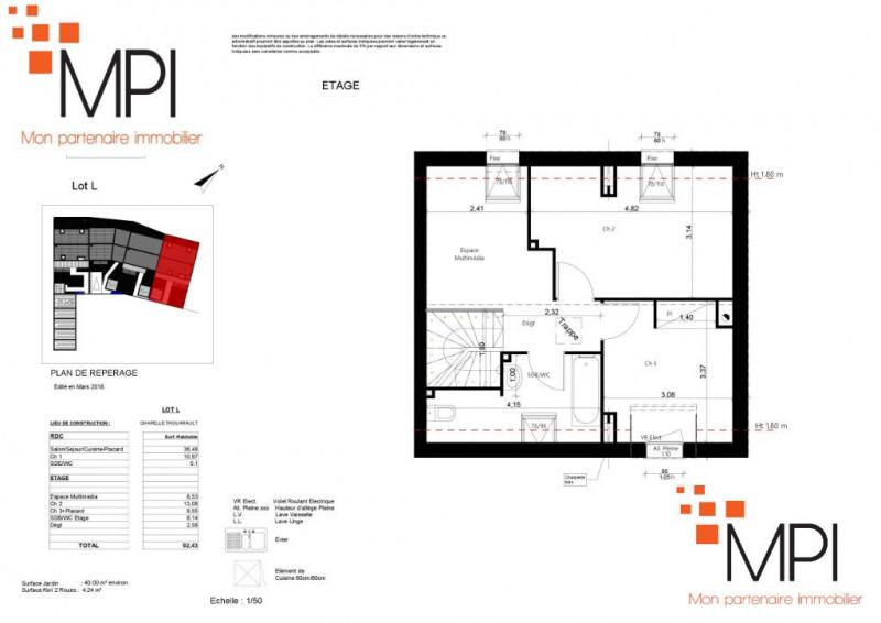 Sale house / villa La chapelle thouarault 175000€ - Picture 3