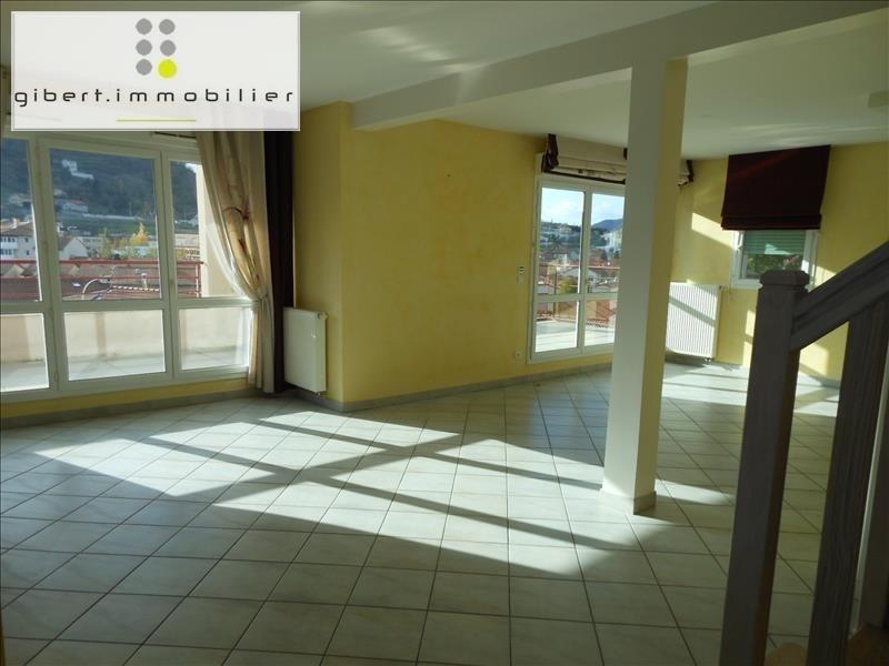 Rental apartment Brives charensac 833,79€ CC - Picture 2