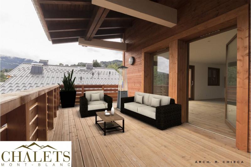Vente de prestige appartement Combloux 829500€ - Photo 2