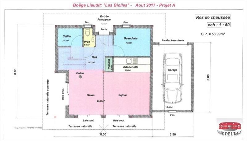 Vente maison / villa Boege 436800€ - Photo 3