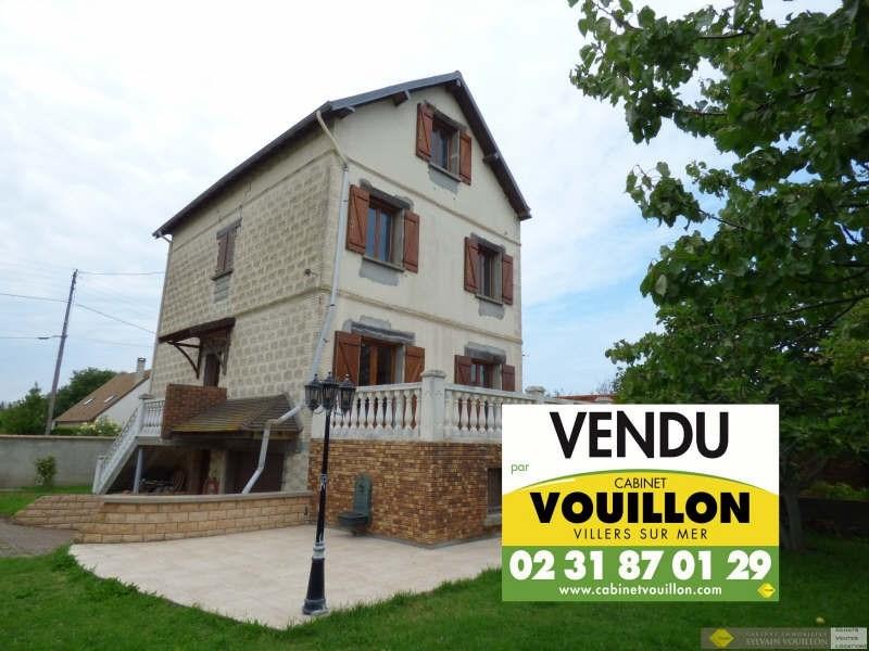 Revenda casa Villers-sur-mer 390000€ - Fotografia 1