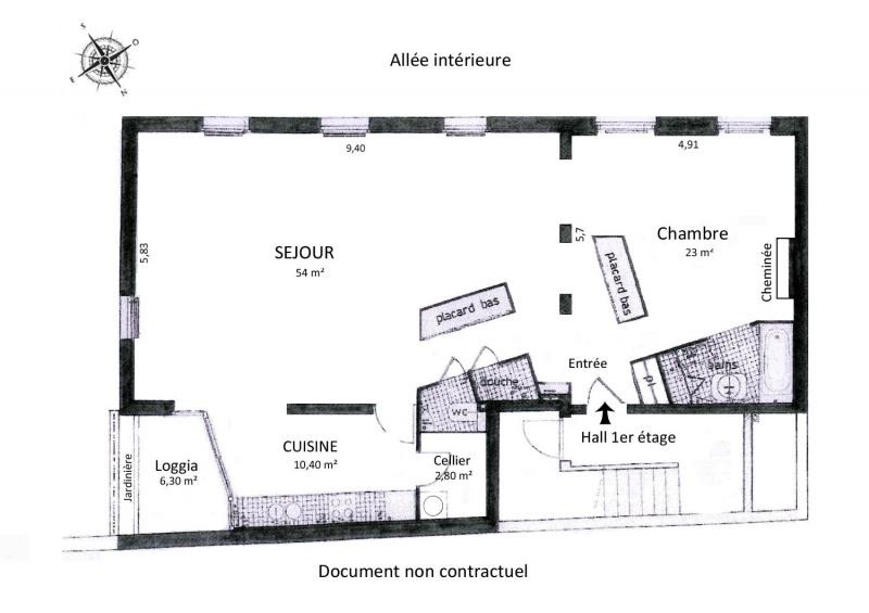 Rental loft/workshop/open plan Paris 11ème 2330€ CC - Picture 3