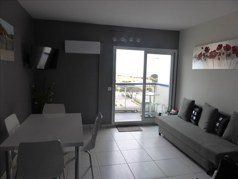 Sale apartment Le barcares 124 000€ - Picture 2