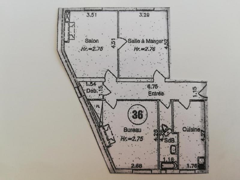 Appartement Paris 2 pièce (s) 66.2 m²