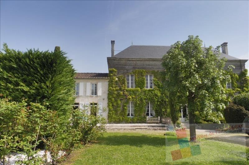 Vente de prestige maison / villa Jarnac champagne 609000€ - Photo 1