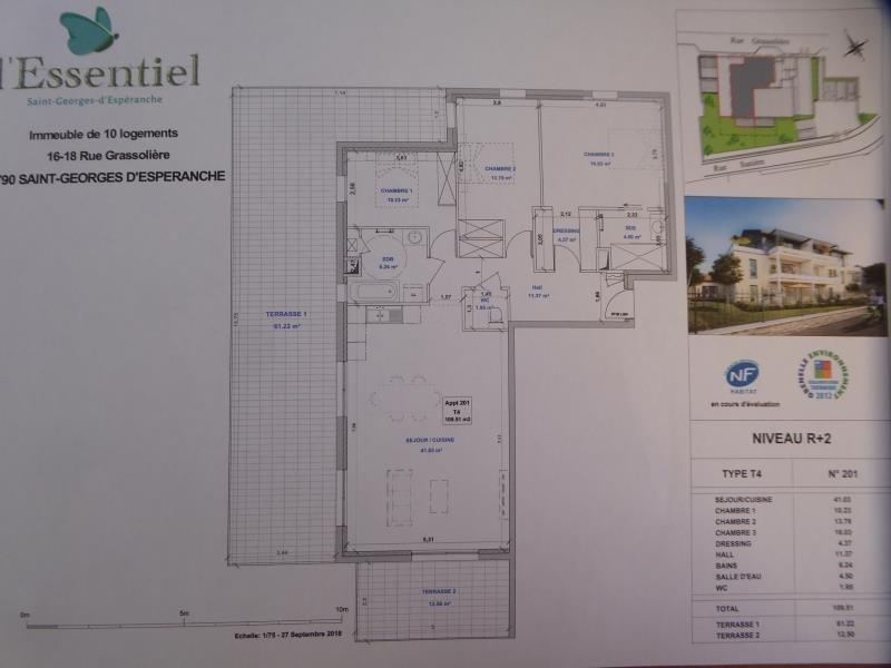 Vente appartement St georges d esperanche 350000€ - Photo 2