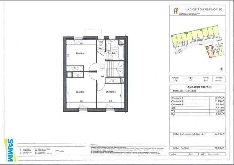 Sale house / villa Mennecy 310000€ - Picture 3