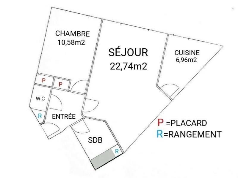 Verkauf wohnung Paris 12ème 550000€ - Fotografie 3