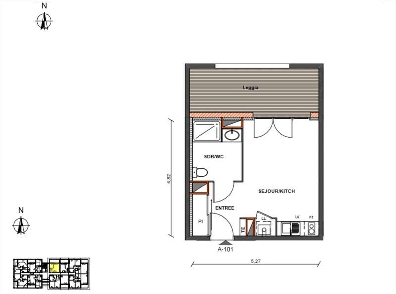 Produit d'investissement appartement Biscarrosse 112300€ - Photo 3