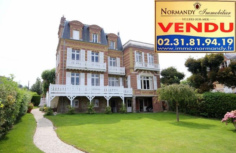 Deluxe sale house / villa Villers sur mer 1650000€ - Picture 1